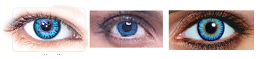 blue colored contacts for dark eyes
