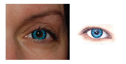 aqua blue colored contacts for brown eyes