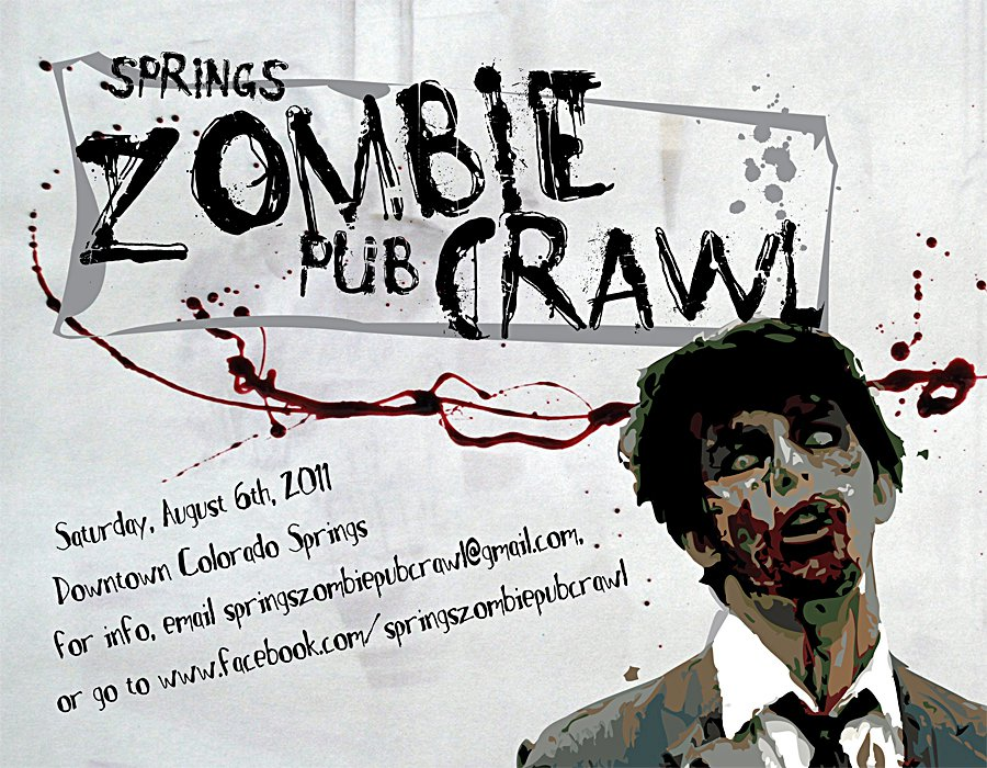 Springs Zombie Pub Crawl