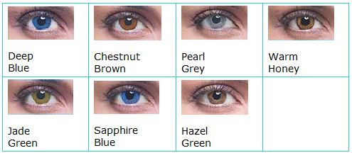 Acuvue 2 Colours color chart