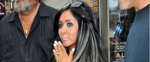 jersey shoreu0027s snooki wearing blue contact lenses  sc 1 st  Color Me Contacts & Costume Ideas for Halloween: Jersey Shore Snooki Costume + Electric ...