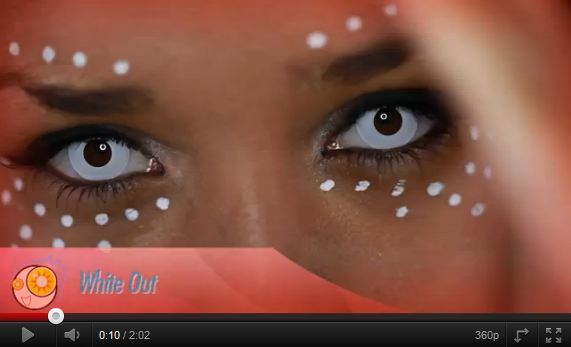 Showcase Of Six Halloween Contact Lenses Video Color