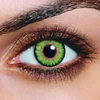 triple color green contacts lenses - Contact Lenses Color Halloween