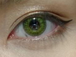 Review Freshlook Colorblends Green Color Me Contacts