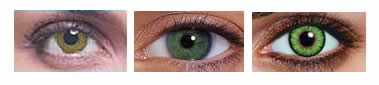 green contacts for dark eyes