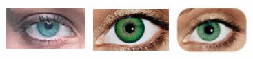 green contacts for light eyes