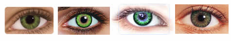 popular green contact lenses