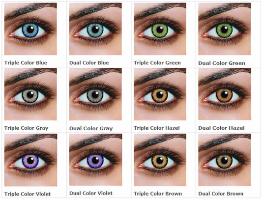 7aaed4706e4 Guide to Non-Prescription Colored Contacts - Color Me Contacts