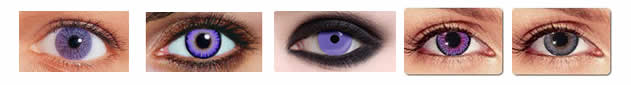 violet contacts for dark eyes