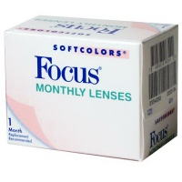 Monthly disposable Focus Softcolors contact lenses