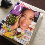 Oprah cover with Colored Contacts